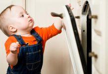 Segurança do bebé na cozinha