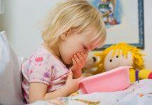 Como tratar vómitos e gastroenterite nas crianças