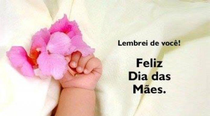 Feliz dia da mãe