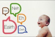 A primeira palavra do bebé