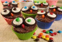 Receita de Brownies de aveia para crianças